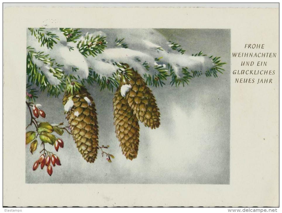=DE  WEIHNACHTEN 1957 - Weihnachten