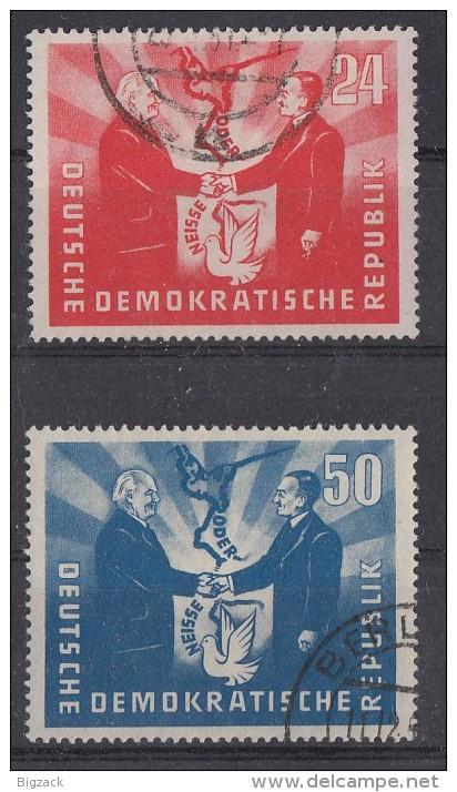 DDR Minr.284-285 Gestempelt - DDR