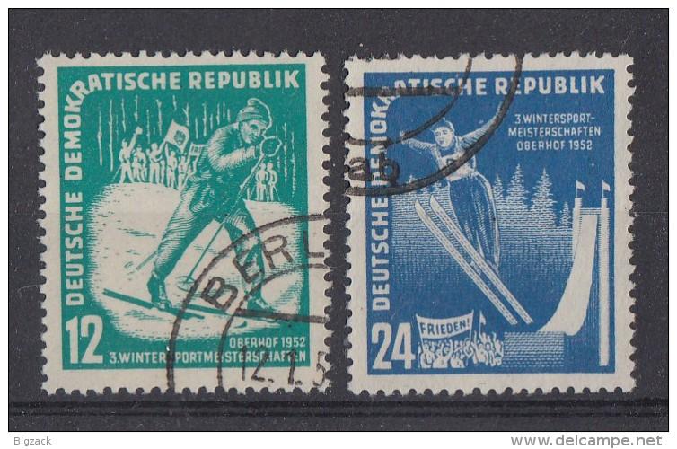 DDR Minr.298-299 Gestempelt - DDR