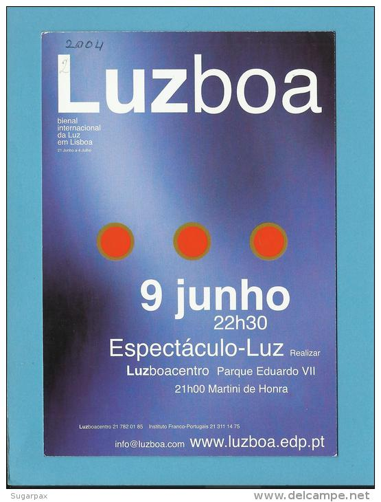 MARTINI - 06 / 2004 - LUZBOA - Martini De Honra - ADVERTISING - From PORTUGAL - 2 Scans - Alcools