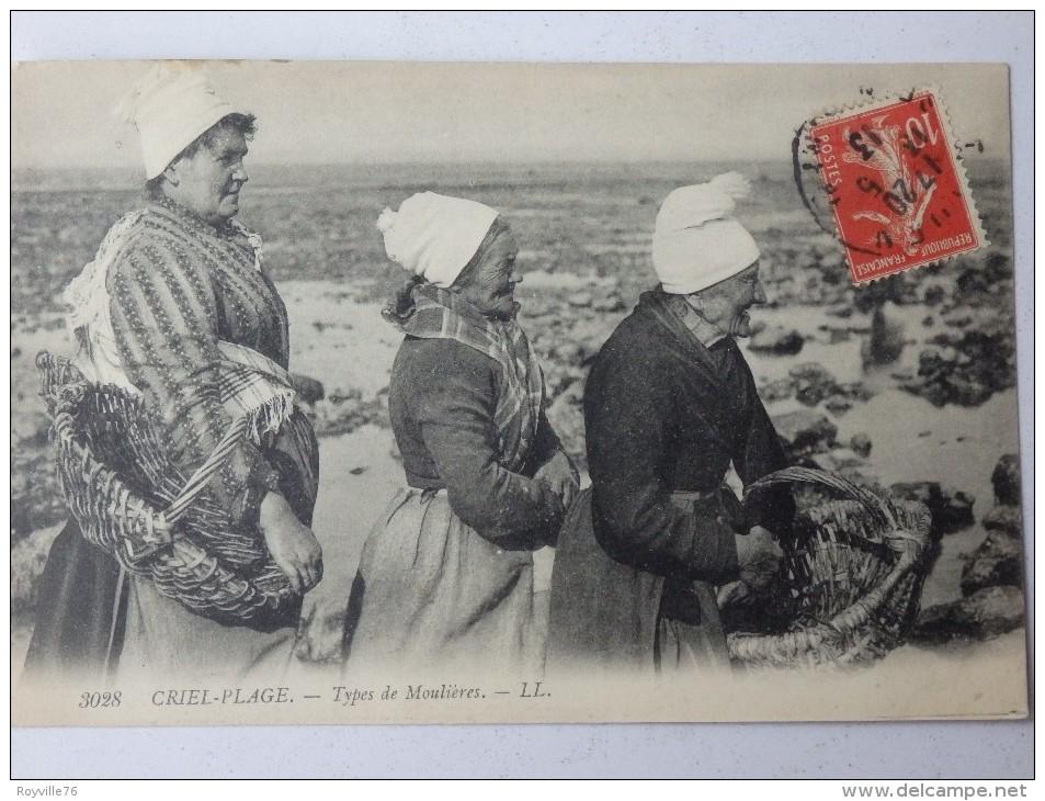 Criel-sur-Mer, Types De Moulières. - Criel Sur Mer