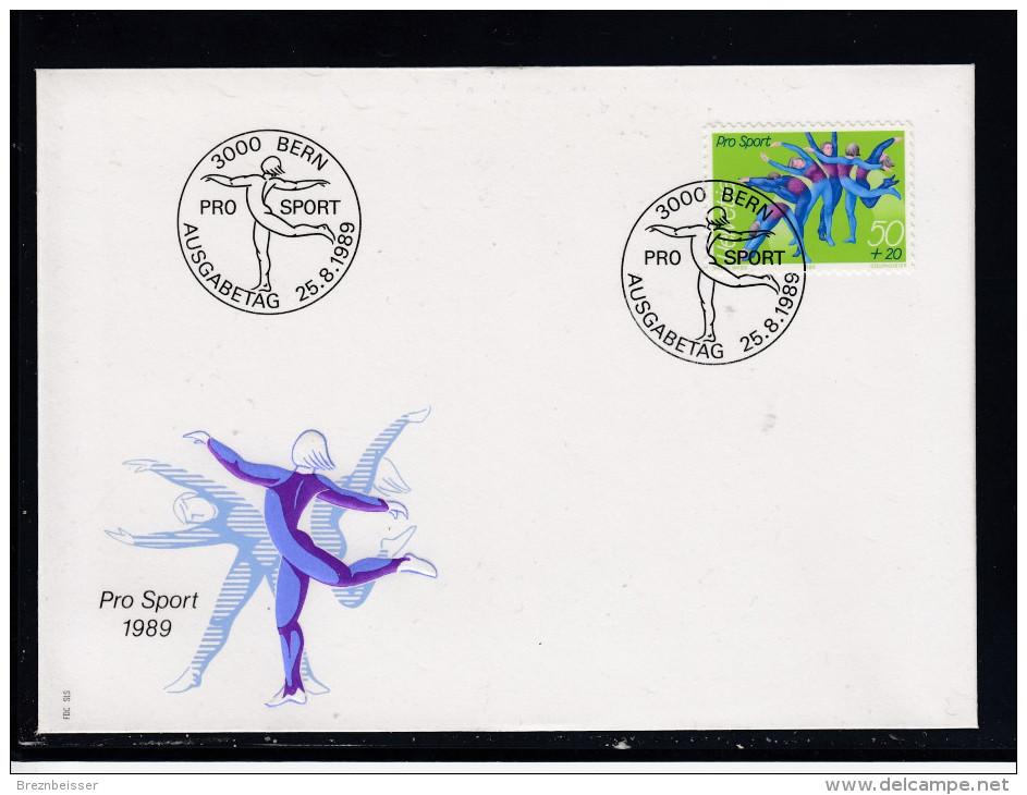 Schweiz  MiNr. 1404  Illustr. Ersttagsbrief / FDC - FDC