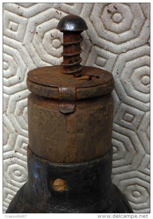 Etat Exceptionnel  - Citron Foug  Complète 14-18 WW1- Grenade Mod 1915 -17 Totalement Neutralisée (VO) - 1914-18