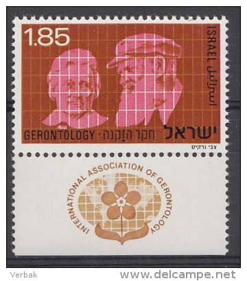 ISRAEL Mi.: 645 Gerontologoe-Kongress 1975  MNH / POSTFRIS / NEUF SANS CHARNIERE - Ongebruikt (met Tabs)