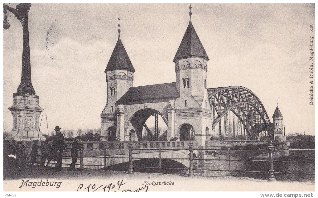 ALLEMAGNE/ MAGDEBURG/Königsbrücke/ Réf:C2851 - Magdeburg