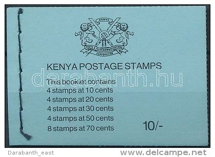 Kenya Stamp Flower Stamp Booklet MNH 1983 Mi 240-242, 244-245 WS168351 - Kenia (1963-...)