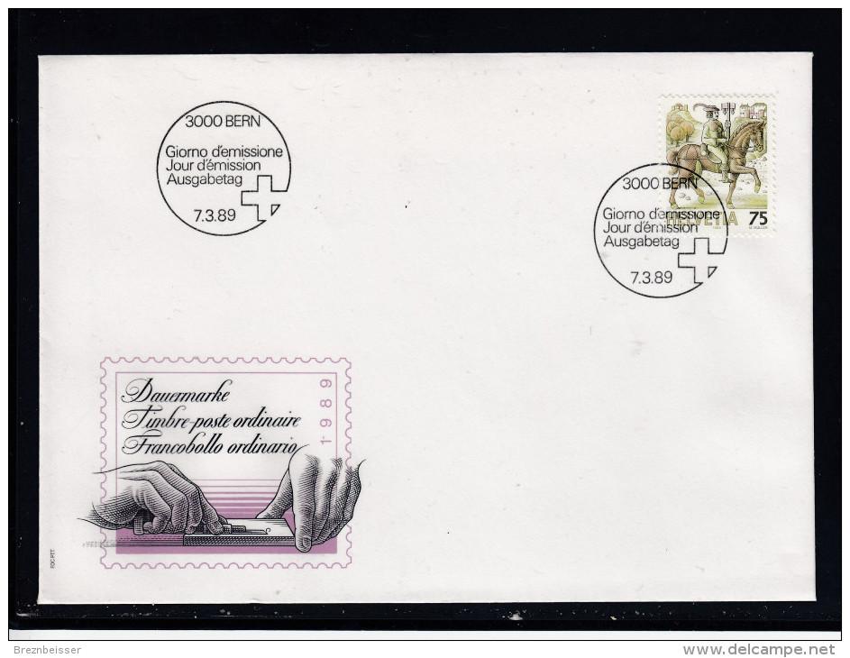 Schweiz  MiNr. 1390  Illustr. Ersttagsbrief / FDC - FDC