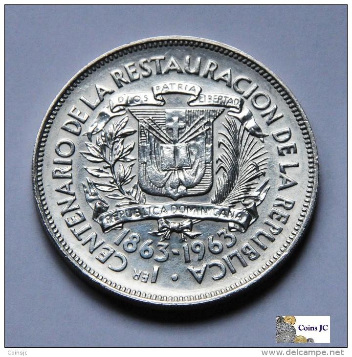 República Dominicana - 1 Peso - 1963 - Dominicaanse Republiek