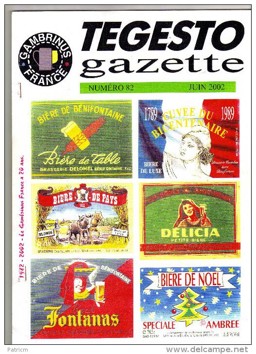 Bulletin Du Club De Collectionneurs Gambrinus France N°82 (Biere & Brasserie) De L´année 2002 - Non Classés