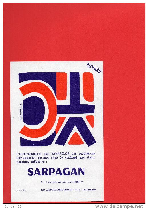 BUVARD - SARPAGAN - Laboratoires SERVIER - Drogisterij En Apotheek