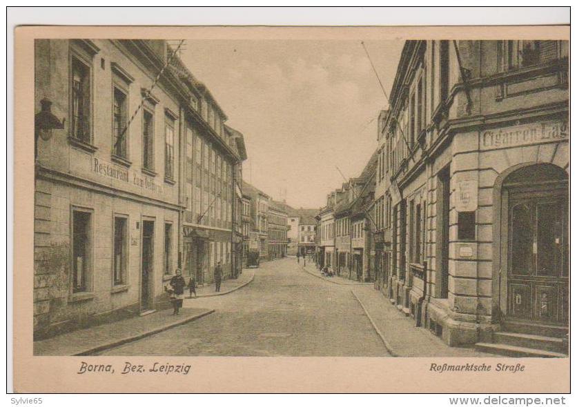 BORNA-Bez-LEIPZIG-Rohmarktsche Strasse- - Borna