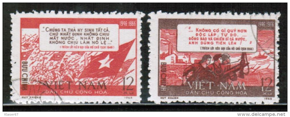 VN 1967 MI 467-68  USED - Vietnam