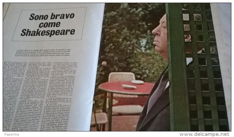 EUROPEO N.31 1/8/68 STREHLER/A. HITSCHCOCK/ENEL/FORLI' ECONOMICA/PERCHE' HANNO UCCISO B.KENNEDY/MAESTRI DELLA FOTOGRAFIA - Libri, Riviste, Fumetti