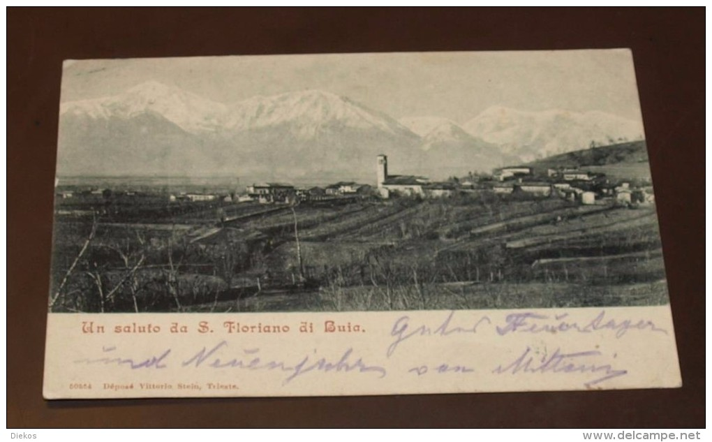 S. Floriano Di Buia  Triest #AK 5430 - Trieste