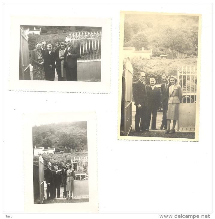 JUPILLE / Liège - Lot De 16 Photos ( +/- 6 X 9 Cm)  + 1 Photo Carte 1948 Ou 1949 (sf 77) - Luoghi