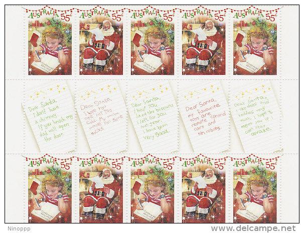 Australia 2010 Dear Santa Gutter Strip - 2010-... Elizabeth II