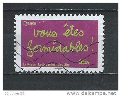 -Frankrijk  Gestempeld (Autoadhésifs) Zelfklevende   NR°  620  Cote   0.60    Euro - Oblitérés