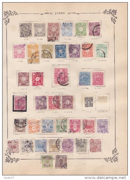 Japon Collection Ancienne Petit Prix - 3 Scans - Japon