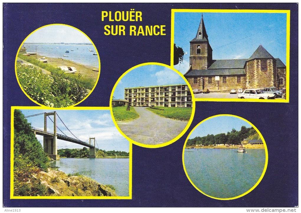 22 PLOUER SUR RANCE - MULTIVUES -  ED. COMBIER - ECRITE 1990 - Plouër-sur-Rance