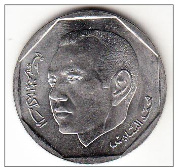 MARRUECOS  2002    2  DIRHAM. MOHAMED VI. NUEVA SIN CIRCULAR .  CN4252 - Marruecos