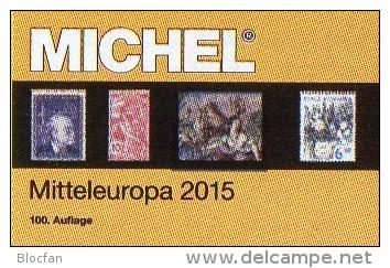 MICHEL Europa Band 1 Katalog 2015 Neu 66€ Mitteleuropa Mit Austria Schweiz UNO Wien CZ CSR Ungarn Liechtenstein Slowakei - German