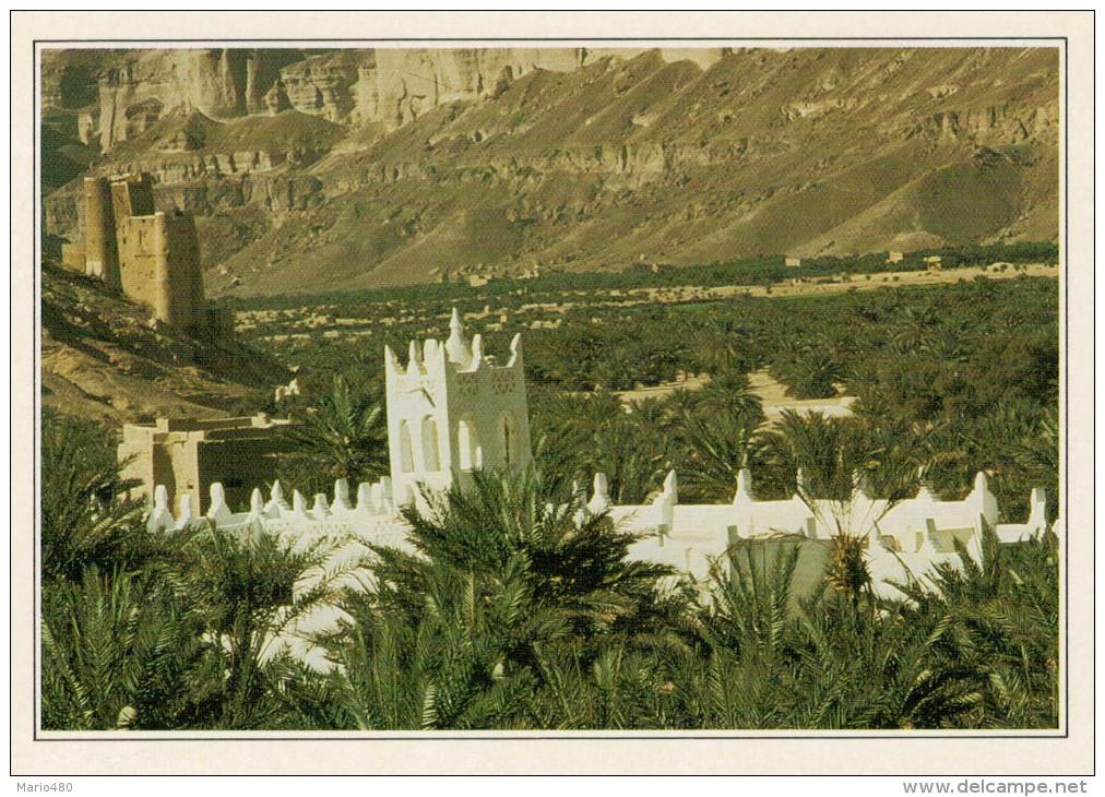 YEMEN:  HADRAMAWT:  VEDUTA DELL' ALTIPIANO   (NUOVA CON DESCRIZIONE DEL SITO) - Yemen