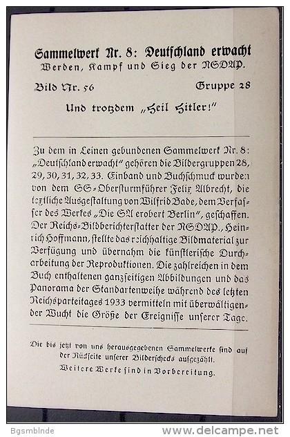 NSDAP-Sammelbild-Nr. 56 - History