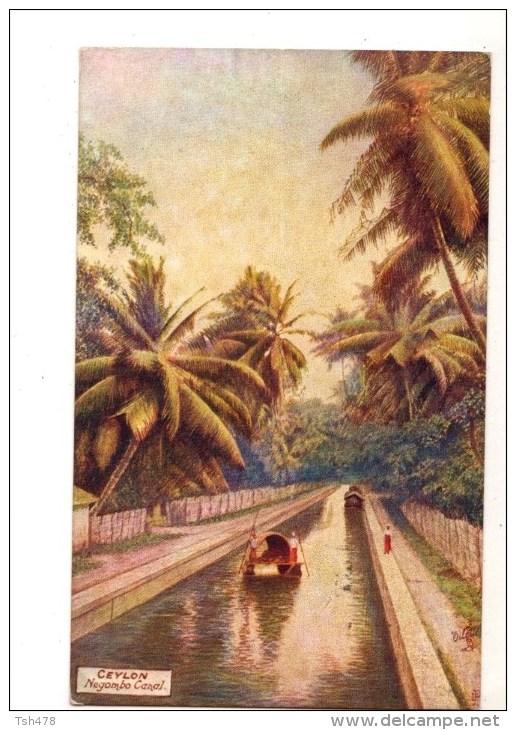 ASIE----SRI  LANKA---CEYLON---negombo Canal--voir 2 Scans - Sri Lanka (Ceylon)