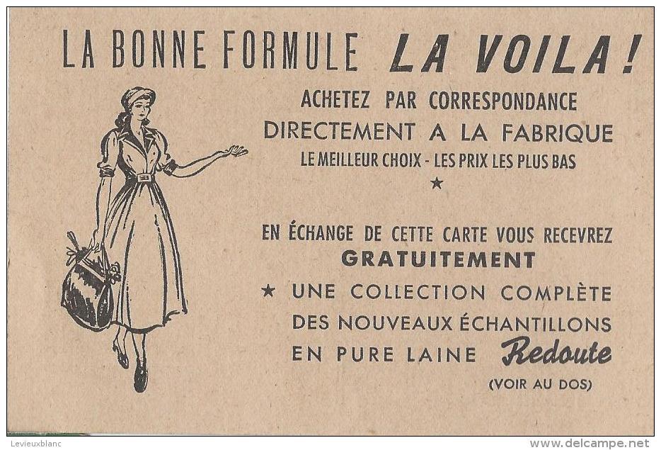 Carte Postale / La Redoute /Demande D'échantillons De Laines / Achat Direct à La Fabrique/Roubaix/Nord/Vers1950   VP718 - Cartes