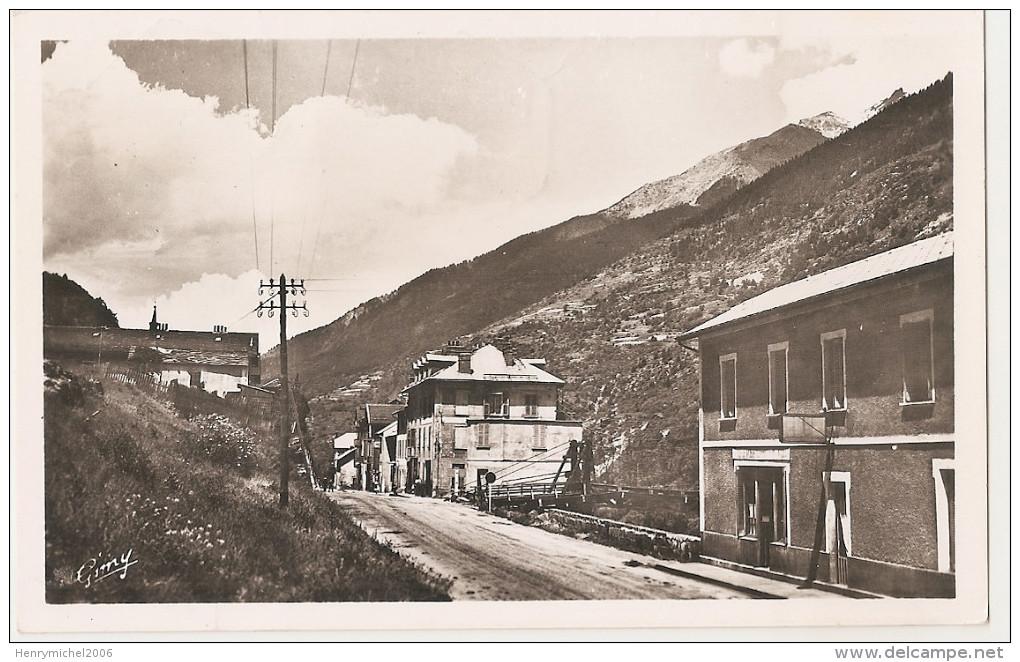 Savoie - 73 - La Praz - Rue Centrale 1952 - France