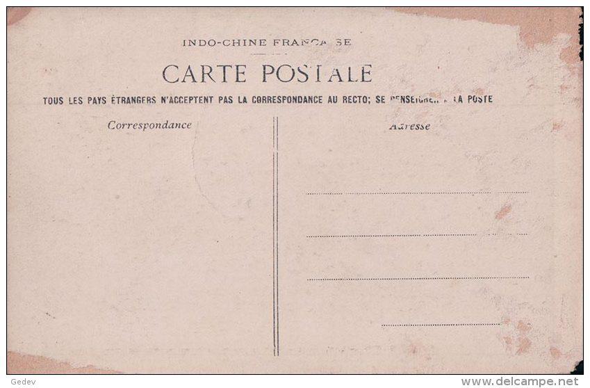 Viêt-Nam Indochine, Tonkin Soldats Jouant Au Croquet (3165) Endommagée - Cartes Postales
