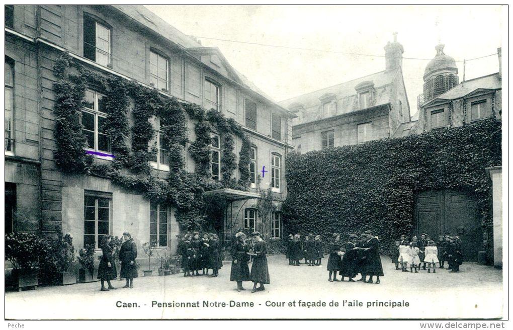 N°5869A -cpa Caen -pensionnat Notre Dame- - Caen