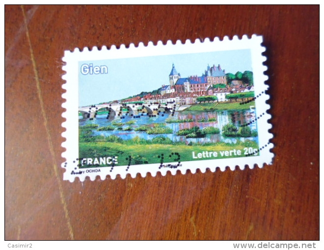 OBLITERATION   SUR TIMBRE  YVERT N° 840 - Frankreich