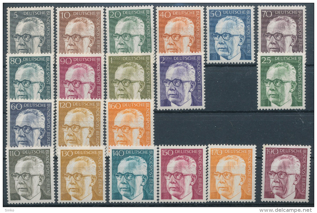 1970/72. Bundesrepublic Deutschland :) - [7] Federal Republic