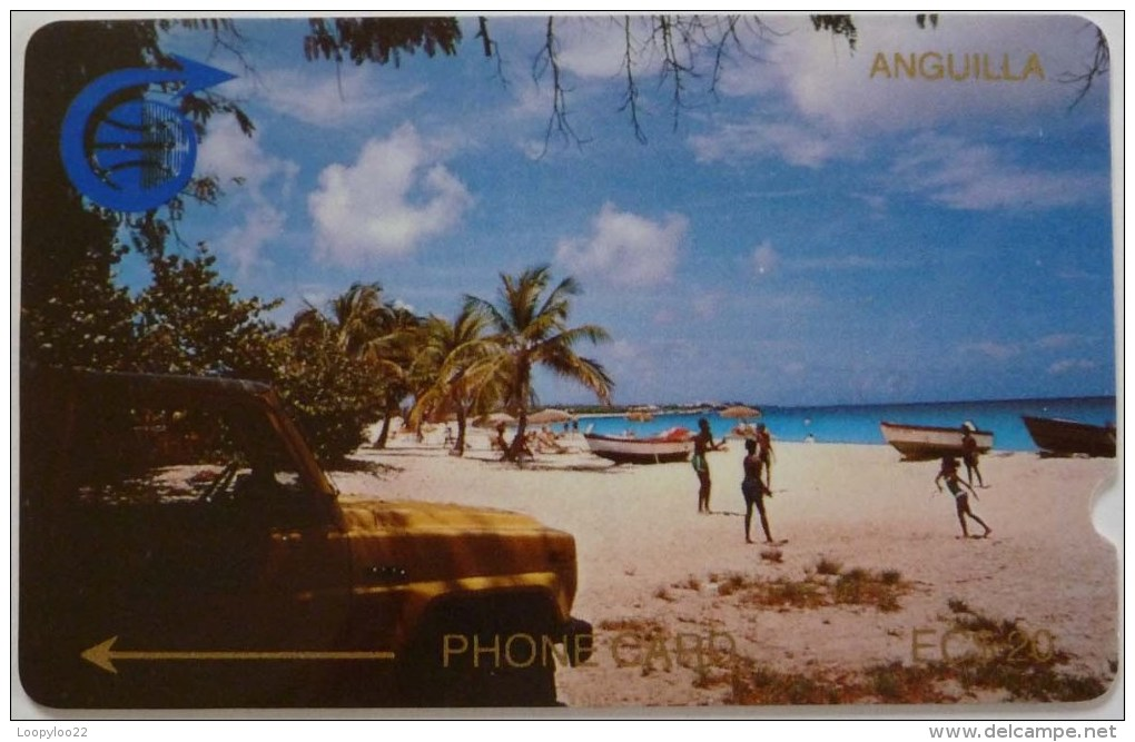 ANGUILLA - GPT - Coded Without Control - Engineer Test - $20 - USED - Anguilla