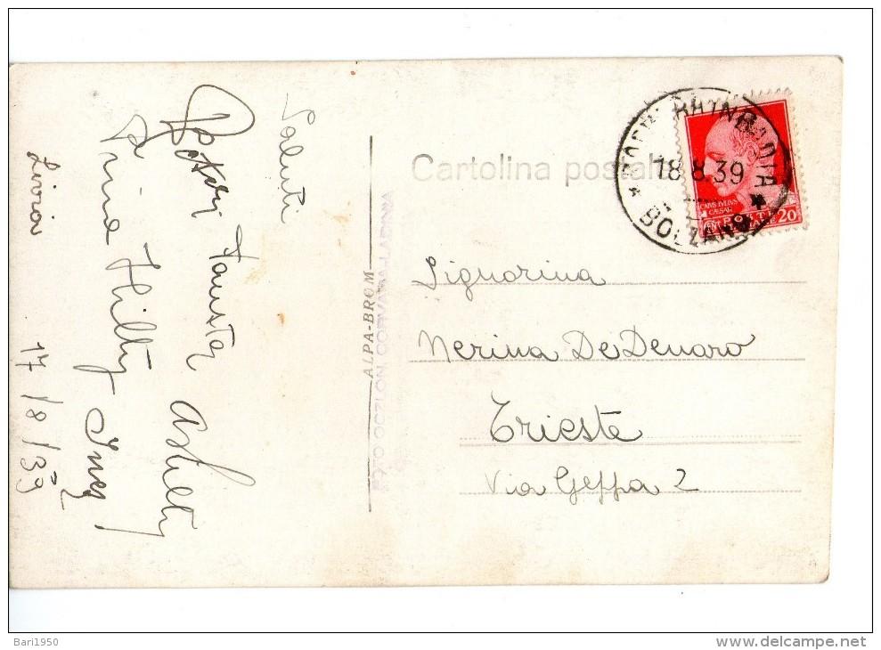 Colfosco - Badia M. 1645 Verso Gruppo Sella - Bolzano (Bozen)