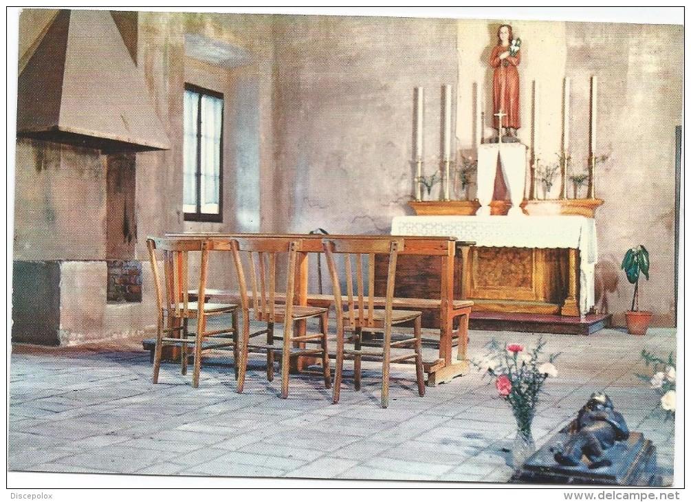 K3377 Latina - Le Ferriere - Interno Della Camera Del Martirio Di Santa Maria Goretti / Non Viaggiata - Latina