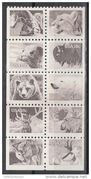 United States    Scott No. 1889a      Mnh    Year  1981   Booklet Pane - Verenigde Staten