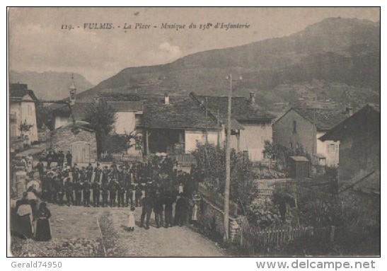 Vulmis - La Place - Musique Du 158ème D'infanterie - France