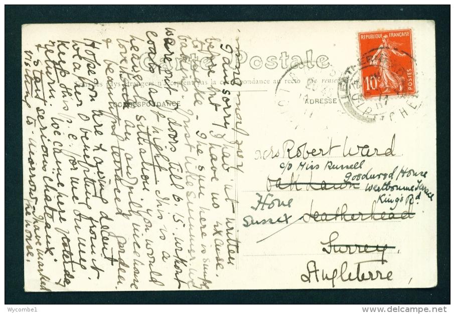 FRANCE  -  Bourre  Le Passage De Bac  Used Vintage Postcard As Scans - Other Municipalities