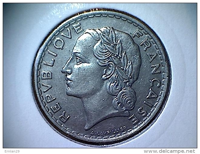France 5 Francs 1933 - France
