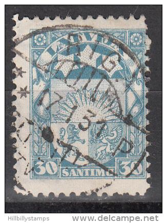 Latvia     Scott No   148    Used    Year  1927 - Lettland