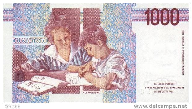 ITALY P. 114c  1000 L  1998 UNC - 1000 Lire