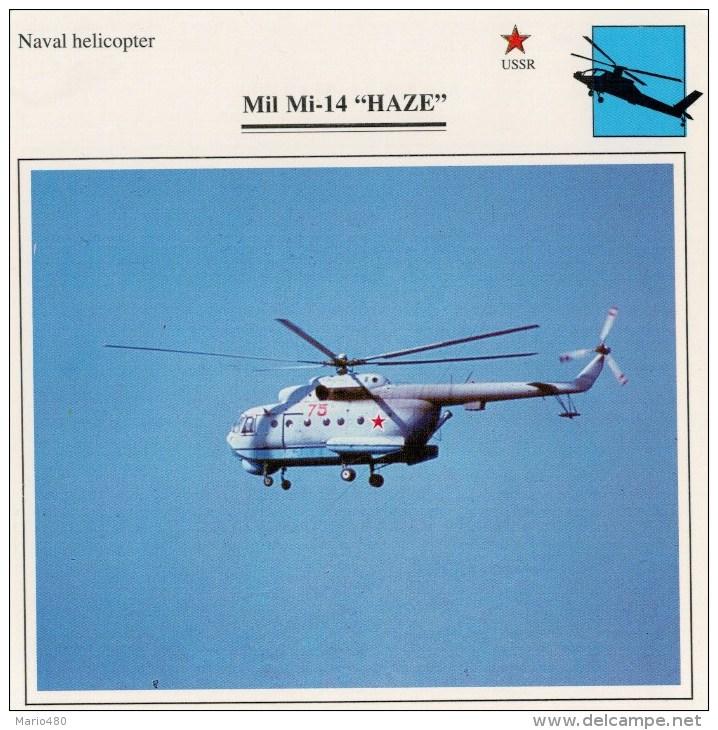 """MIL  MI-14  """"HAZE""""      2 SCAN   (NUOVO CON DESCRIZIONE E SCHEDA TECNICA) - Elicotteri"""