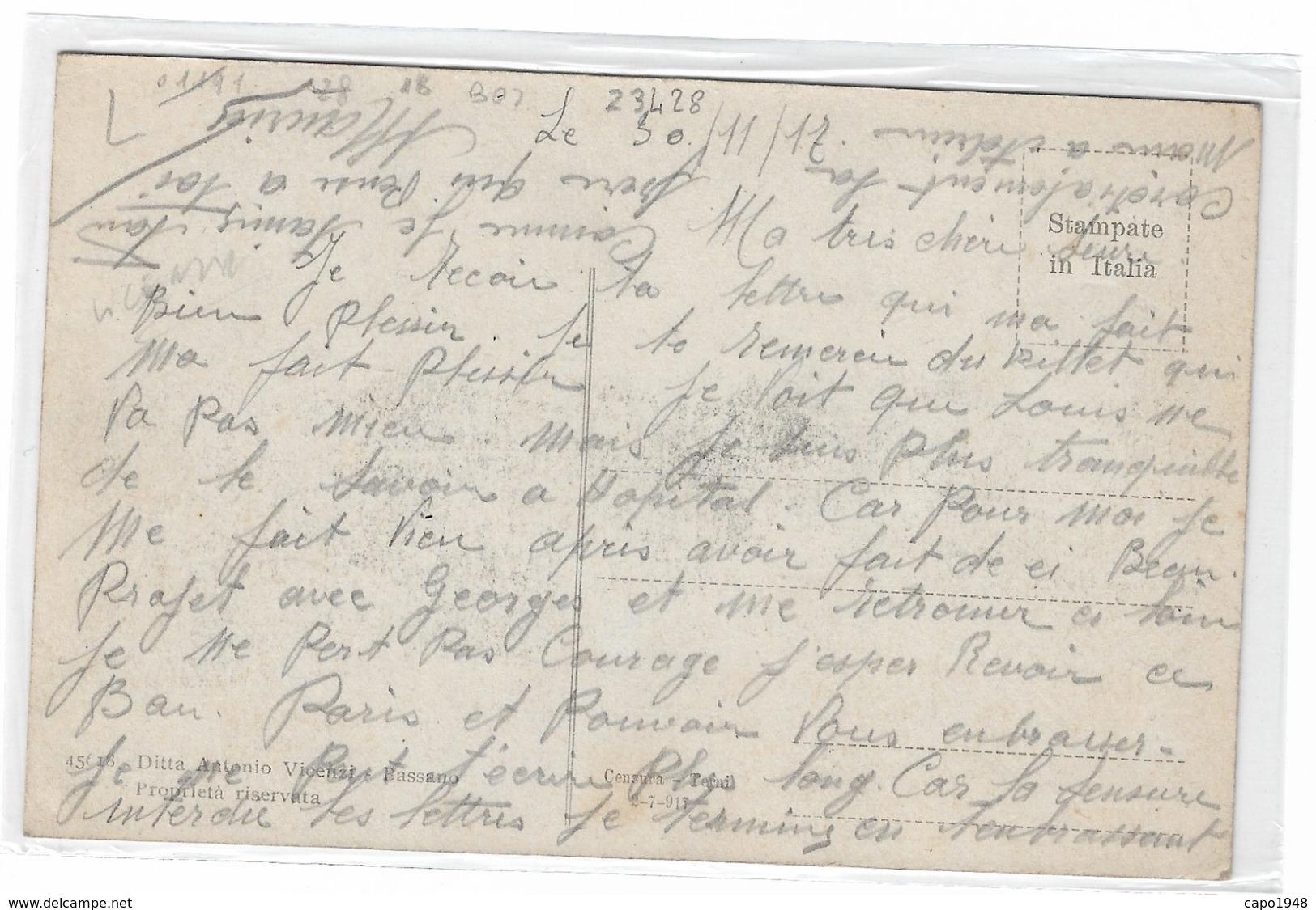 CARD BASSANO FORO BOARIO  SCUOLE ELEMENTARI PRINCIPE UMBERTO   (VICENZA)  FP-VDB-2 -0882-23428 - Vicenza