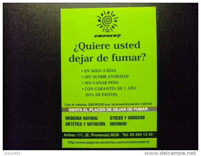 CARTA POSTAL PUBLICITARIA - PARA DEJAR DE FUMAR - Comercio