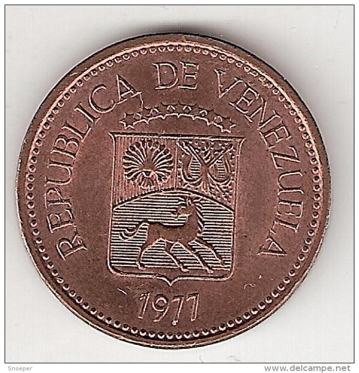 Venezuela 5 CENTIMOS 1977  KM 49 - Venezuela