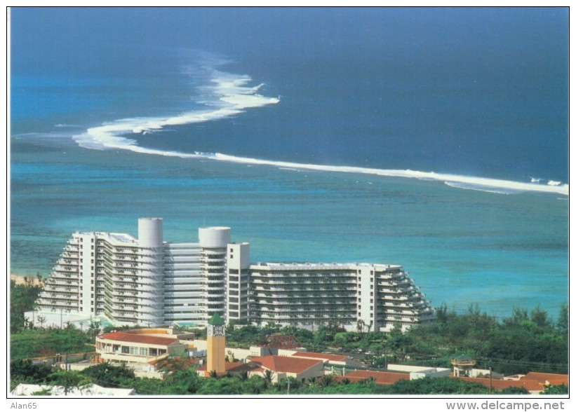Saipan Northern Marianas Islands, Hotel Nikko And Ocean View, C1990s/2000s Vintage Postcard - Marianen