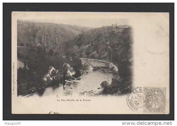 DF / 23 CREUSE / BADECON-LE-PIN / MOULIN DE LA PRUNE / CIRCULÉE EN 1903 - Frankreich