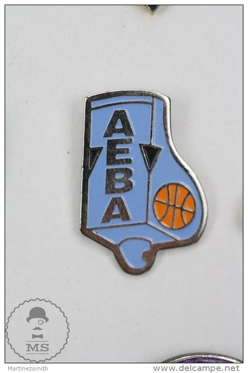 Association Of European Basketball Agents - Pin Badge #PLS - Baloncesto